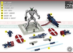 Daiseen G 20 (messerneogeo) Tags: messerneogeo robot mech mecha daiseen g aldebaran spaceship lego