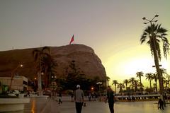 Morro de Arica (MackaColorinche) Tags: skate arica chile sunse sunset morro plazacolon