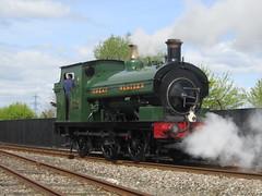 IMG_4724 - GWR Hudswell Clarke Saddle Tank 813 (SVREnthusiast) Tags: didcotrailwaycentre didcot railway centre gwrhudswellclarkesaddletank813 gwr hudswellclarke saddletank 813