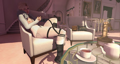 033. Tea Time for Two. (fashionmaul) Tags: secondlife second life sl boy boi femboy androgynous male men fashion style