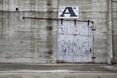 Door A (StephenReed) Tags: doora concrete slidingdoor bracket nola atthedocks louisiana neworleans nikond3300 stephenreed
