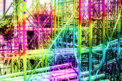 this is ... (Kai-Ming :-))) Tags: buildingsite kaiming kmwhk creative colourful horizontal vertical grid scaffold metal