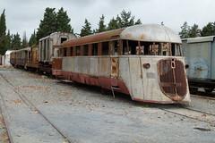 Sardinie (elr37418) Tags: sardinie 1930 mussolini fiat railway littorina schienenbus railcar selfpropelled italy terranova rusty forgotten panasonic dmc fz100 train
