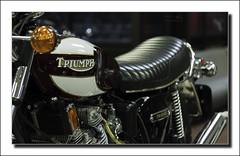Triumph Trident T160V (G. Postlethwaite esq.) Tags: canon60mmmacro dof nationalmotorcyclemuseum t160v triumphtrident beyondbokeh bokeh depthoffield motorcyle primelens selectivefocus