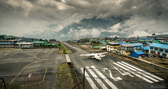 Lukla, Nepal (vlastimil_skadra) Tags: dangerous airport lukla nepal mountains clouds sky atmosphere adventure awesome himalaya brilliant wow cloud discovery d810 nikon drama asia outdoor fear earth ngc magic outdoorlife travel traveling photography picsoftheday