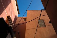 Red street (Kunkana) Tags: 2017 architecture maroc marocco marrakech