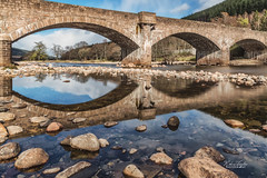 Ballater Bridge (robinta) Tags: bridge architecture stone historic landmark water river ballater scotland landscape rocks outdoors robintaylorphotography pentax sigma18200mmhsmc ks1 longexposure