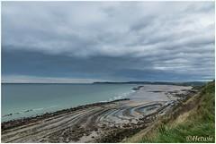 Als het eb is (HP025397) (Hetwie) Tags: opaalkust sea eb strand cap kust lowtide rocks france frankrijk coast cotedopale capblancnez capgrisnez zee audinghen hautsdefrance fr