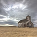 Arena North Dakota Church (overthemoon3) Tags: ghosttown arena north dakota landscape clouds grassland