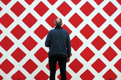 What Does It Mean? (YIP2) Tags: martincreed saycheese sculpture art wall walls people watching museumvoorlinden voorlinden wassenaar modernart watcher