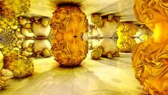 Amazing Gnarly (eXalk) Tags: gnarl room render reflection art abstract sphere design digital dream fantasy fractal fragmentarium grafik geometric glossy