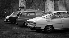 Škoda 110R (kaddafi210) Tags: pancolar 50mm pancolar1850 1850 m42 samsung samsungnx210 mirrorless czech retro carlzeissjena ausjena gdr atmosphere moment skoda 110r classic oldtimer czechoslovakia sportcar coupe nice style