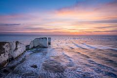 Old Harry's Rock - Dorset (Christopher Pope Photography) Tags: jurassiccoast jurassic christopherpopephotography dorest chrispope studland oldharrysrock rough wwwchristopherpopephotographycom sunrise sea