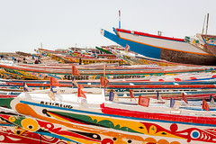 Sea of Colors (Yoann Gauthier) Tags: senegal mbour petite cote canoes fishermen fish sea 100d colors
