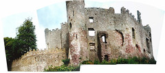Wales.  September 3rd.-10th. 2000 (Cynthia of Harborough) Tags: 2000 architecture castles ruins trees