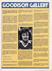 Everton vs Manchester United - 1977 - Page 13 (The Sky Strikers) Tags: everton manchester united football league divsion one goodison park programme 15p