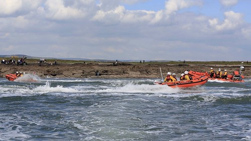 Samtampa and Mumbles Lifeboat 70th anniversary memorial event, Sker Point