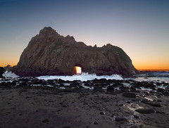 Pfeiffer Beach at Sunset.jpg (leshapiro) Tags: bigsur pfeifferbeach sunset ocean rocks waves
