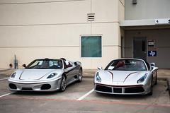 Identical (Hunter J. G. Frim Photography) Tags: supercar texas dallas ferrari f430 spider convertible v8 italian black silver ferrarif430 ferrarif430spider nero argento 488 gtb turbo ferrari488 ferrari488gtb ferrari488spider