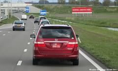Honda Odyssey Touring (US-spec) (XBXG) Tags: ak090cq honda odyssey touring hondaodyssey minivan red rouge mpv n201 rozenburg nederland holland netherlands paysbas japanese car auto automobile voiture japonaise japon japan asiatique asian vehicle outdoor rl3 rl4 us spec usspec