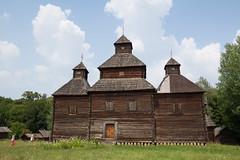 Big Old Church (skvadripop) Tags: kiev ukraine traditional old wodden church pirogovo