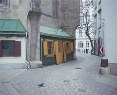 Vienna, Domplatz (nikolaijan) Tags: plaubelmakina 67 kodak portra800 120 film vienna plaubel austria wien expired epsonv750