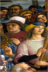 Pope Pius II Arrives in Ancona (detail) (Jean G68) Tags: cathdrale duomo bibliothque toscane sienne