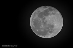 Full Moon (sbajaj) Tags: moon canon fullmoon astrophotography astronomy nightsky moonshot celestialobjects canon60d