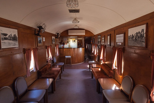 Old Ghan Train Club Car
