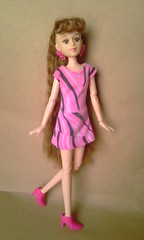 Obitsu in Steffi dress (Anderson's All-Purpose) Tags: doll steffi 16 simba steffilove obitsu 25cm simbatoys