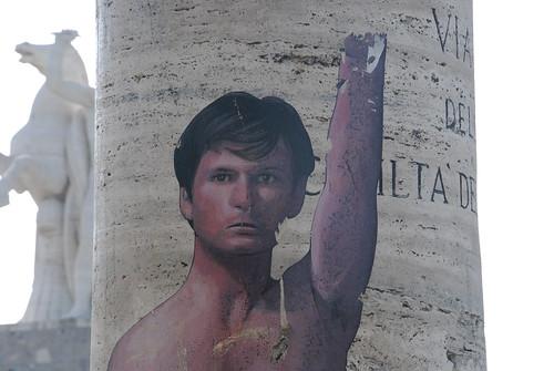 Salò (Scena 3, particolare) Zilda per Pasolini - Via Civiltà del Lavoro -Roma