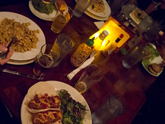 Ann, Rob, and Chris (a*wong) Tags: chris food beer table restaurant pittsburgh rob alcohol ann macandcheese maccheese fishtacos macaroniandcheese macaronicheese harrisgrill