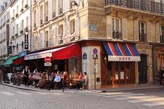 paris' street (carohernando) Tags: street paris france corner cafe