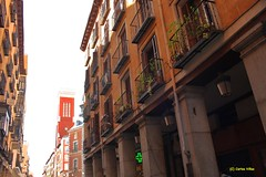 Calle de Gerona desde Plaza Mayor. Madrid (Carlos Vias) Tags: madrid calles gerona