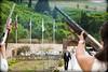 Shotgun Salute (RobW_) Tags: wedding andy sunday may greece natasha zakynthos shotguns 2011 may2011 29may2011