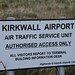 Kirkwall airport - schild