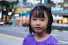 ~ (thyaagoo) Tags: blue portrait girl 35mm nikon singapore child streetportrait f18 dx orchardroad d40