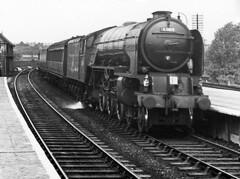 Grantham A1 60119 Patrick Stirling c1952 JVol6061 (DavidWF2009) Tags: a1 grantham 60119 patrickstirling