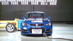 ANCAP MDB test of Holden VF Commodore at APV Tech Centre (APVTechCentre) Tags: flex phantom highspeed holden slowmotion apv crashtest ancap mdb carsafety apvtechcentre vfcommodore