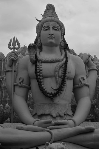 hindu god shiva by murli krish uttarkar, on Flickr