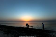 another day, another sunset (azahar photography) Tags: sunset bahrain middleeast manama aljazeerahbeach