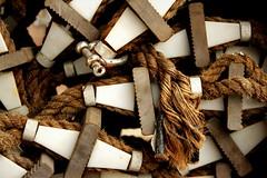 Rope ladder (mennomenno.) Tags: abstract ropeladder rotterdamzuid katendrecht touwladder