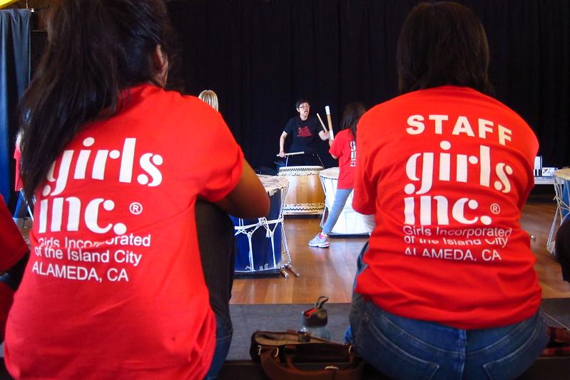 Taiko Workshop w/Girls Inc. 06-26-13