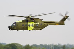 R Danish AF Agusta-Westland EH-101 Mk.512 Merlin Joint Supporter M-513 (Hugh Dodson) Tags: merlin monday fairford riat eh101 2013 agustawestland mk512 jointsupporter m513 esk722 rescue13 rdanishaf
