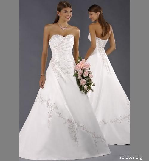 Vestido de noiva 2010