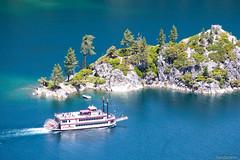 M.S. Dixie II - Fannette Island (fandarwin) Tags: park cruise lake island bay fan state nevada tahoe cruising darwin vessel best panasonic ii ms knight mrs emerald dixie vikingsholm 1445 gf1 fannette fandarwin