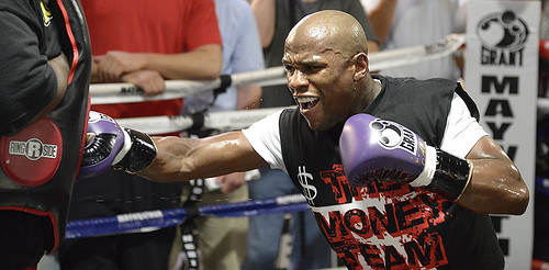 Video Floyd Money Mayweather is the Half a Billion Dollar Man