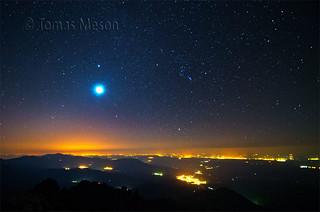una noche en lo alto de la Mira a 2343 mt , en la Sierra de Gredos _DSC4627 r esf ma