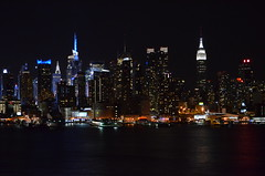 NYC Skyline - night