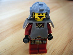 zen warrior (nuo2x2) Tags: wood japan toy lego random armor samurai blade minifig katana reversed nihon kabuto minifigure nuo2x2